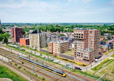 132 appartementen + parkeergarage 'Woerden Centraal', Woerden